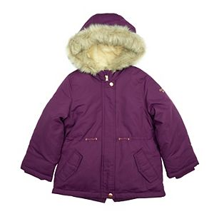 Toddler Girl OshKosh B'gosh® Burgundy Parka