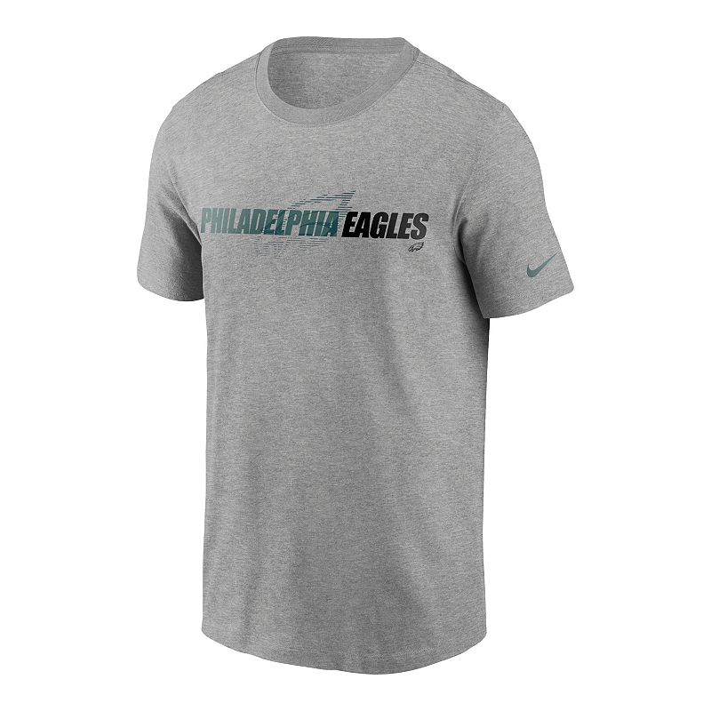 Men's Nike Philadelphia Eagles Tonal Essential Tee, Size: Large, Grey