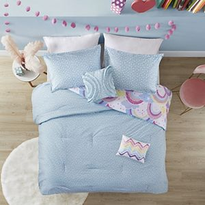 Urban Habitat Kids Lucy Printed Rainbow Reversible Comforter Set