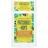 Schmidt's Patchouli + Hops Aluminum-Free Hemp Seed Oil Natural Deodorant Stick - 2.65 oz.