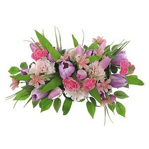 Sonoma Goods For Life Artificial Tulip Floral Arrangement Table Decor