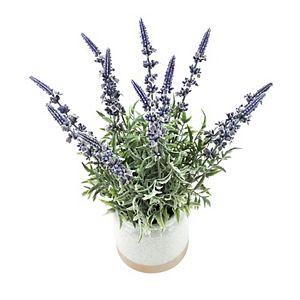 Sonoma Goods For Life Artificial Lavender Floral Bouquet & Pot Table Decor