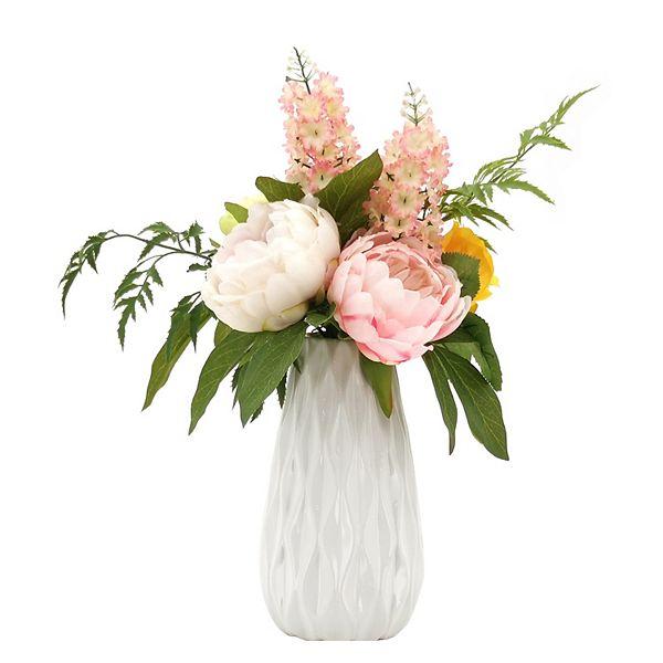 Sonoma Goods For Life Artificial Mixed Floral Arrangement Vase Table Decor