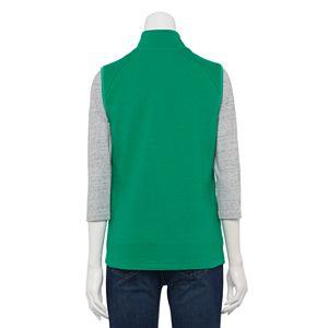 Women's Croft & Barrow Solid Quilted Vest