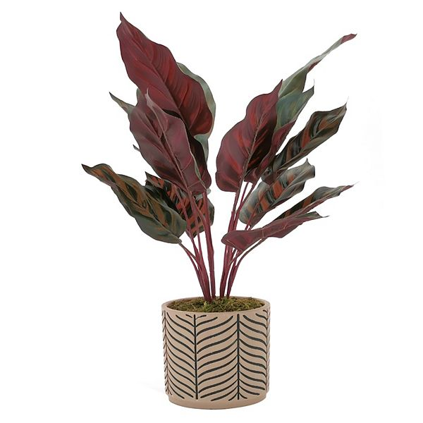 Sonoma Goods For Life Artificial Leaves In Pot Floor Decor