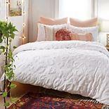 Peri Chenille Leopard Comforter Set & Shams