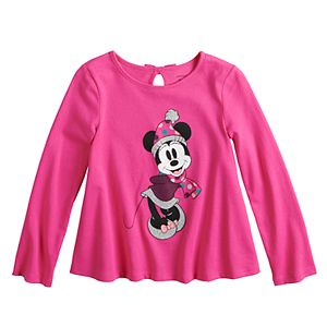 Disney's Minnie Mouse Toddler Girl Bow-Back Swing Top by Jumping Beans®