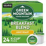 Keurig Green Mountain Coffee Breakfast Blend Light Roast Keurig® K-Cup® Pods, Medium Roast, 24 Count
