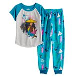Disney's Raya & The Last Dragon Girls 4-10 Top & Jogger Bottoms Pajama Set