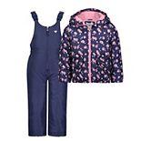 Baby Girl OshKosh B'gosh® Patterned Snowsuit