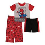 Toddler Boy Marvel Spider-Man 3 Piece Always Amazing Pajama Set