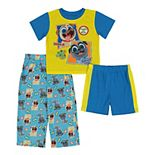 Disney's Puppy Dog Pals Toddler Boy 3 Piece At Play Pajama Set