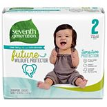 Seventh Generation Sensitive Protection Baby Diapers Size 2 (12-18lbs) - 31 count
