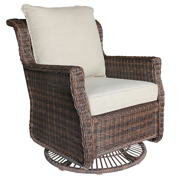 Sonoma Goods For Life Cortena Resin, Patio Furniture Swivel Rocker Recliner