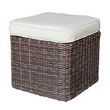 Sonoma Goods For Life® Cortena Resin Wicker Storage Ottoman