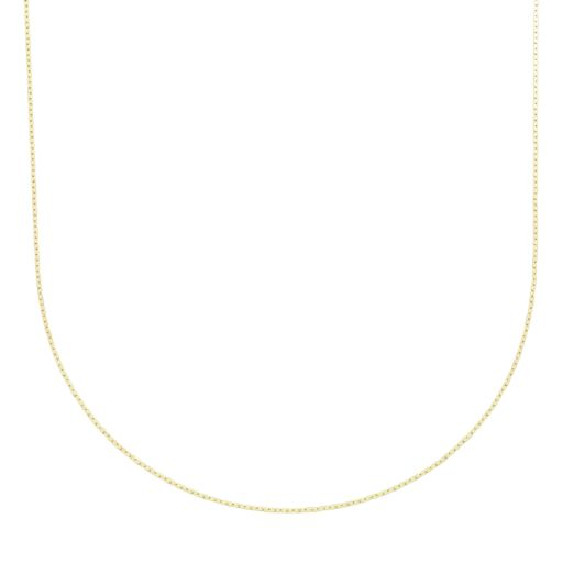 24k Gold-Over-Silver Cobra Chain Necklace