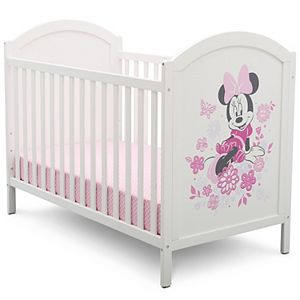 Disney's Minnie Mouse 4-in-1 Convertible Crib by Delta Children