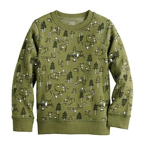 Boys 4-12 Jumping Beans® Adaptive Fleece Pullover