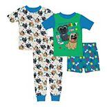 Disney's Puppy Dog Pals Toddler Boy 4 Piece Bingo & Rolly Pajama Set