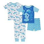 Toddler Boy Blues Clues 4 Piece Pajama Set