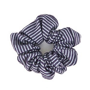 Oversized Striped Tonal Scrunchie
