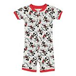 Disney's Mickey Mouse Toddler Boy Romper Pajamas