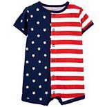 Baby Carter's Patriotic Snap-Up Romper