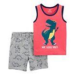 Baby Boy Carter's Dinosaur Tank & Shorts Set