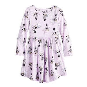Disney's Minnie Mouse Toddler Girl Adaptive Flutter Dress by Jumping Beans®