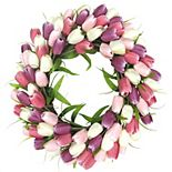 Sonoma Goods For Life® Artificial Tulip Wreath Wall Decor