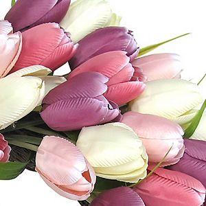 Sonoma Goods For Life Artificial Tulip Wreath Wall Decor