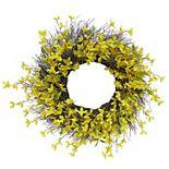 Sonoma Goods For Life® Artificial Forsythia Wreath