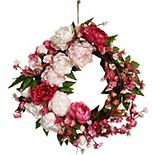 Sonoma Goods For Life® Artificial Peony Wreath