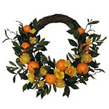 Sonoma Goods For Life® Artificial Clementine Wreath Wall Decor