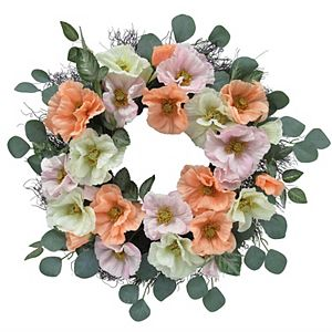 Sonoma Goods For Life Artificial Poppy Wreath