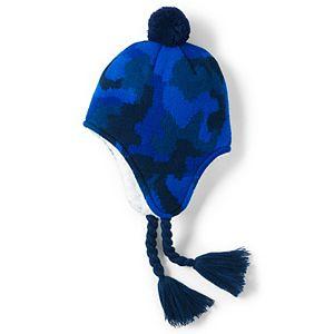 Kids Lands' End Peruvian Trapper Winter Hat