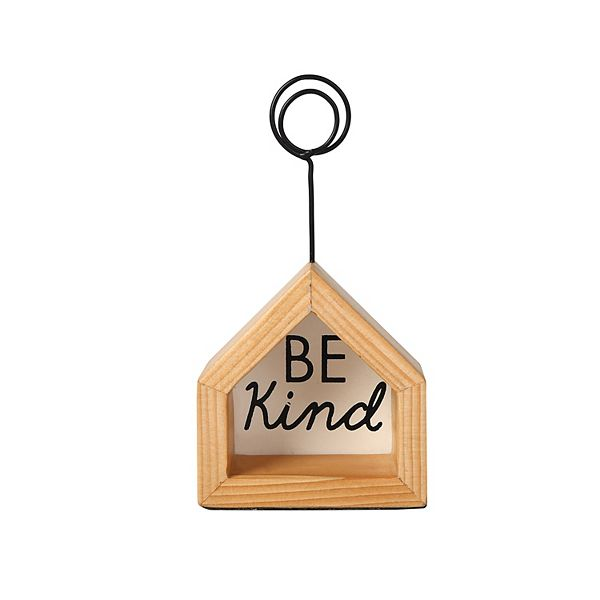 Sonoma Goods For Life® Be Kind Clip Table Decor