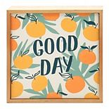 Sonoma Goods For Life® Good Day Caption Box Wall Decor
