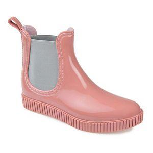 Journee Collection Drip Women's Waterproof Rain Boots