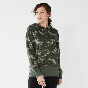 Women's Nine West Side Zip Hoodie