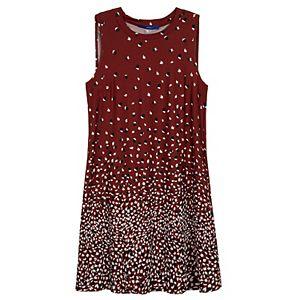 Petite Apt. 9® Print Sleeveless Swing Dress