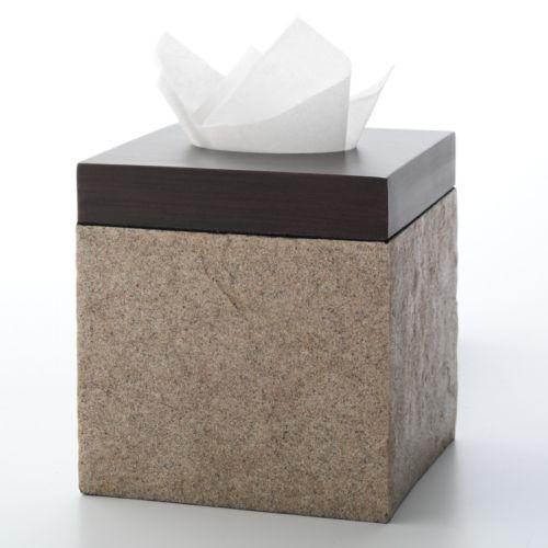 India Ink Shellburn Tissue Holder