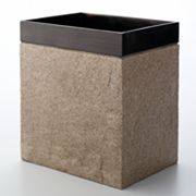 India Ink Shellburn Wastebasket