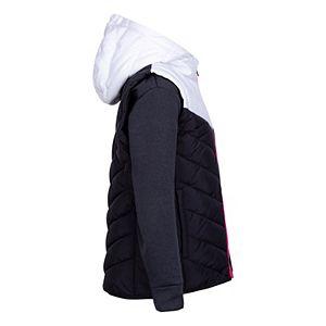 Girls 4-6x Nike 2fer Jacket