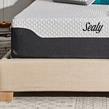"Sealy 14"" Hybrid Memory Foam Mattress-in-a-box with Cool & Clean Cover"