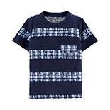 Baby Boy Carter's Tie-Dye Stripe Pocket Tee