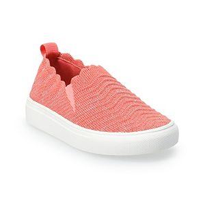 Jumping Beans® Paislee Toddler Girls' Slip-On Sneakers