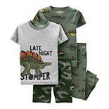 Toddler Boy Carter's 4 Piece Cotton Pajama Set