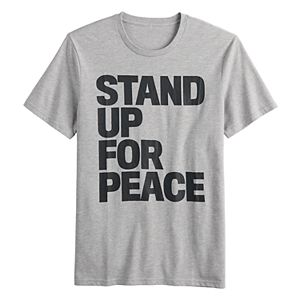 """Men's Family Fun? """"Stand Up"""" Graphic Tee"""