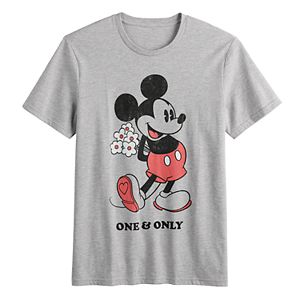 Disney's Mickey Mouse Men's One & Only Valentine's Graphic Tee by Family Fun?